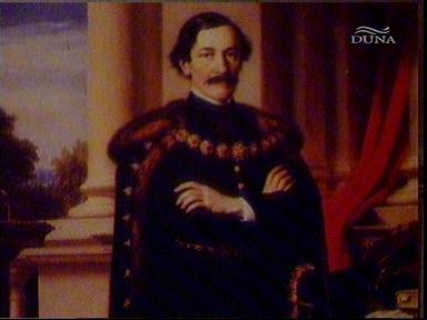 Barabás Miklós: Teleki László (festmény) (részlet)