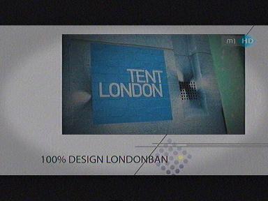 100 % design Londonban