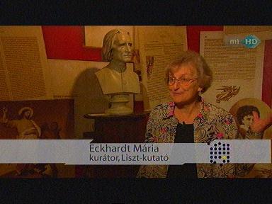 Eckhardt Mária, kurátor, Liszt-kutató
