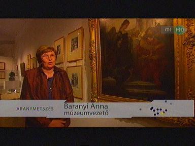 Baranyi Anna, múzeumvezető
