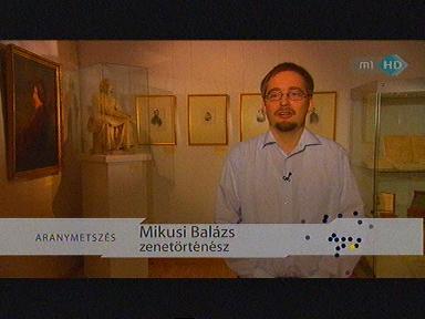 Mikusi Balázs, zenetörténész