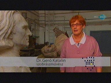 dr. Gerő Katalin, szobrászművész