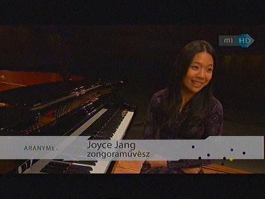 Joyce Jang, zongoraművész
