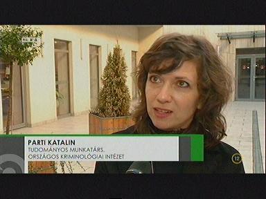 Parti Katalin, tudományos munkatárs, Országos Kriminológiai Intézet