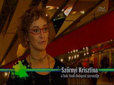Szőrnyi Krisztina, szervező, Tedx Youth Budapest