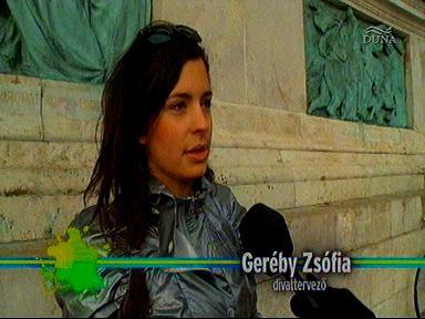 Geréby Zsófia, divattervező
