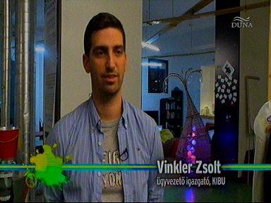 Vinkler Zsolt, ügyvezető igazgató, KIBU
