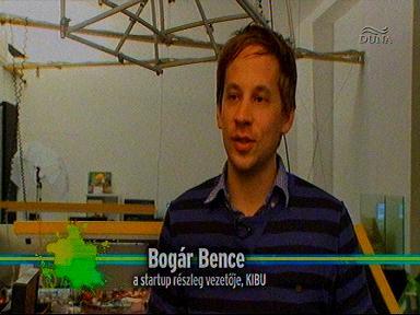Bogár Bence, vezető, startup részleg, KIBU