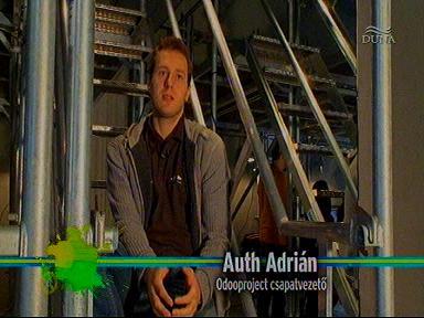 Auth Adrián, csapatvezető, Odooproject