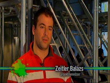 Zeitler Balázs, projektmenedzser