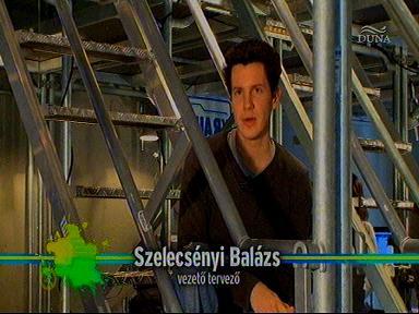 Szelecsényi Balázs, vezető tervező