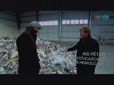 Kis Péter, ügyvezető igazgató, AVE Miskolc Kft. [jobbra]