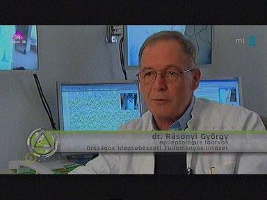 Dr. Rásonyi György, epileptológus főorvos, Országos Idegsebészeti Tudományos Intézet