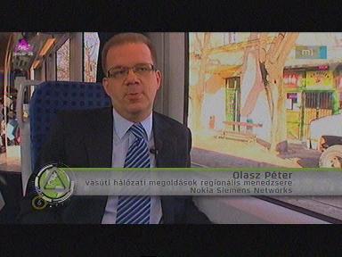 Olasz Péter, vasúti hálózati megoldások regionális menedzsere, Nokia Siemens Networks