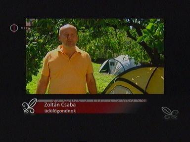 Zoltán Csaba, üdülőgondnok