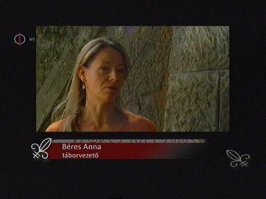 Béres Anna, táborvezető