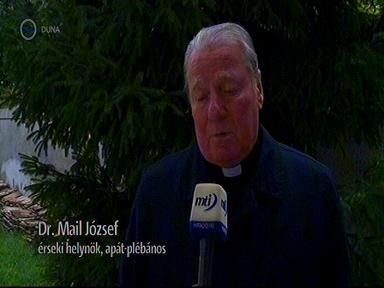 Dr. Mail József, érseki helynök, apát, plébános