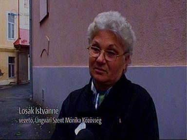 Losák Istvánné, vezető, Ungvári Szent Mónika Közösség