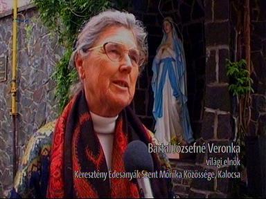 Bartal Józsefné, világi elnök, Keresztény Édesanyák Szent Mónika Közössége, Kalocsa