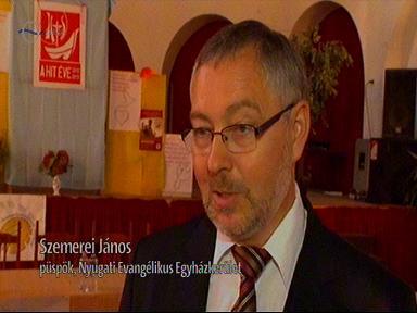 Szemerei János, püspök, Nyugati Evangélikus Egyházkerület