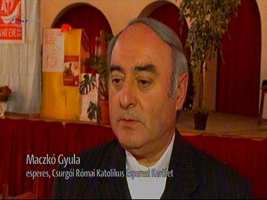 Maczkó Gyula, esperes, Csurgói Római Katolkus Esperesi Kerület