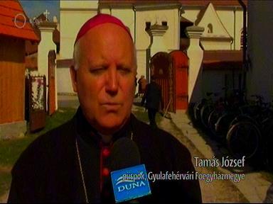 Tamás József, püspök, Gyulafehérvári Főegyházmegye
