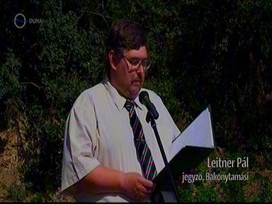 Leitner Pál, jegyző, Bakonytamási