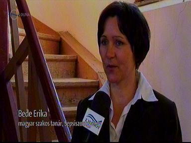 Bede Erika, magyar szakos tanár, Sepsiszentgyörgy