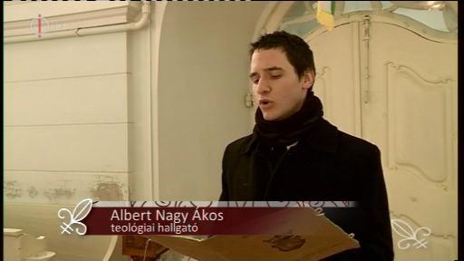 Albert Nagy Ákos, teológiai hallgató