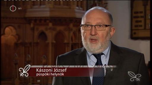 Kászoni József, püspöki helynök