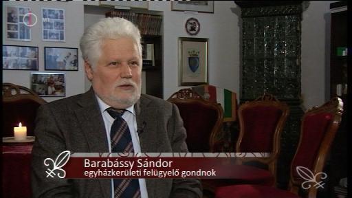 Barabássy Sándor, egyházkerületi felügyelő gondnok