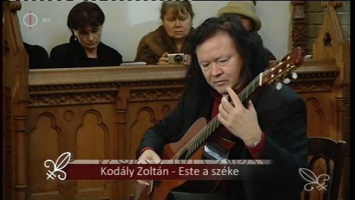 Kodály Zoltán: Este a székelyeknél (részlet) - előadja Tokos Zoltán