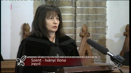 Szent-Iványi Ilona, jegyző