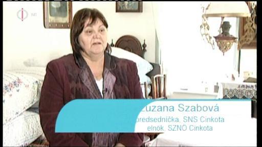 Zuzana Szabová, elnök, SZNÖ Cinkota