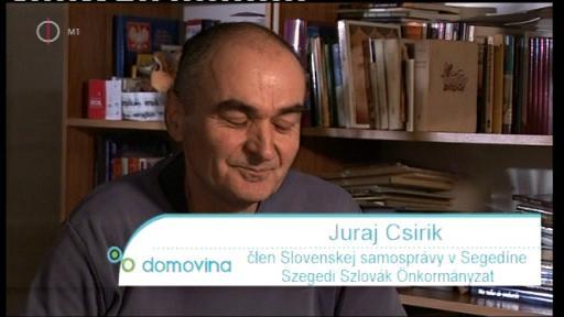 Juraj Csirik, Szegedi Szlovák Önkormányzat