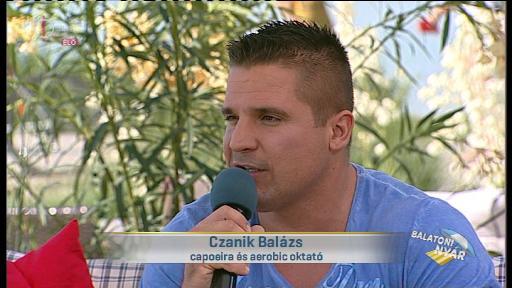 Czanik Balázs, capoeira és aerobic oktató