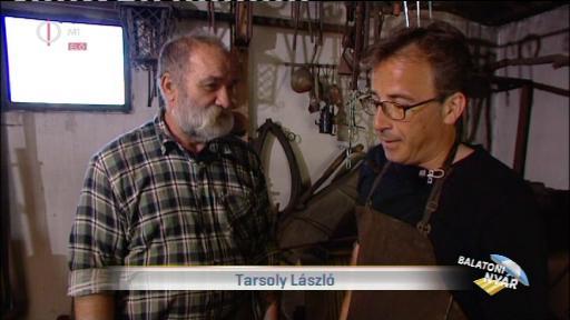 Tarsoly László [balra]