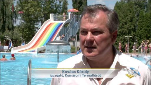 Kovács Károly, igazgató, Komáromi Termálfürdő
