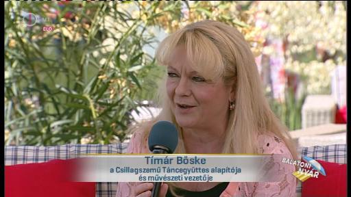 Tímár Böske, alapító, művészeti vezető, Csillagszemű Táncegyüttes