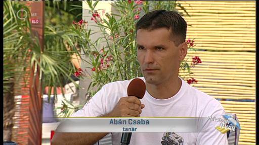 Abán Csaba, tanár