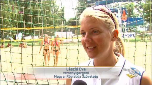 László Éva, versenyigazgató, Magyar Röplabda Szövetség