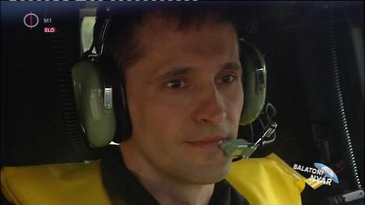Kiss Balázs, pilóta