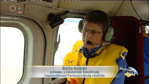Botta András, ezredes, vezető, Készenléti Rendőrség Légrendészeti Parancsnokság