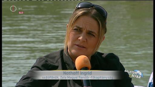 Nothoff  Ingrid, sajtófőnök, Zala Megyei Rendőr-főkapitányság