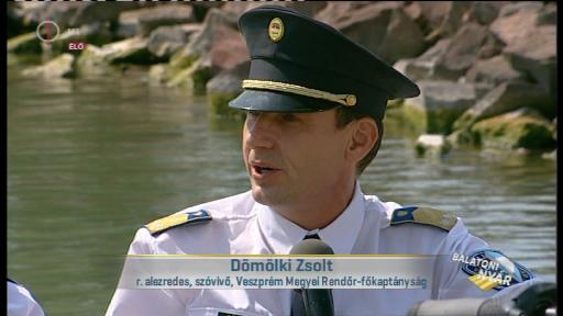 Dömökli Zsolt, rendőr alezredes, szóvivő, Veszprém Megyei Rendőr-főkapitányság