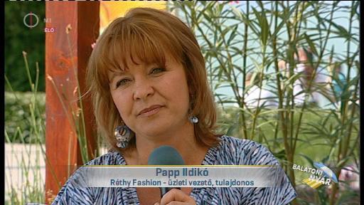 Papp Ildikó, üzleti vezető, tulajdonos, Réthy Fashion