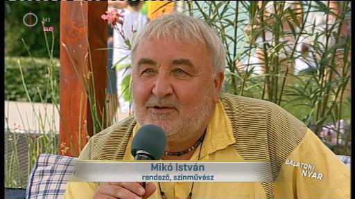 Mikó István, rendező, színművész