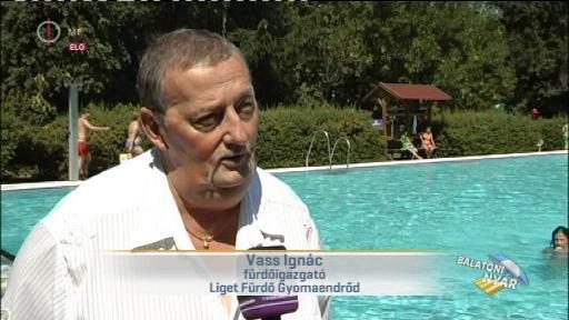 Vass Ignác, fűrdőigazgató, Liget Fürdő Gyomaendrőd