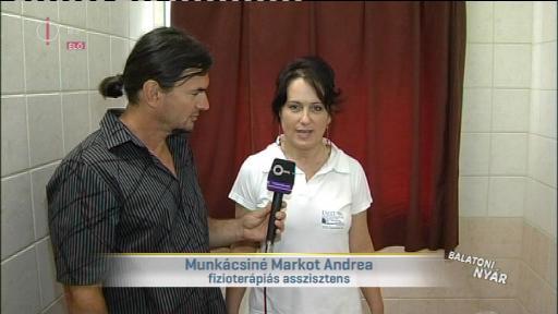 Munkácsiné Markot Andrea, fizioterápiás asszisztens