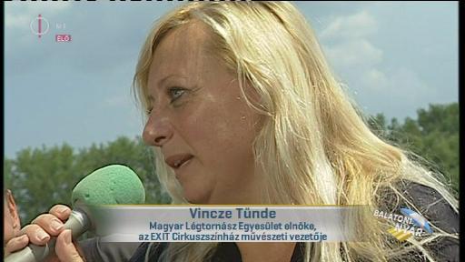 Vincze Tünde, elnök, Magyar Légtornász Egyesület; művészeti vezető, EXIT Cirkuszszínház